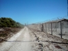The fencing on Robben Island