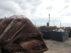 Scrap ready for dumping