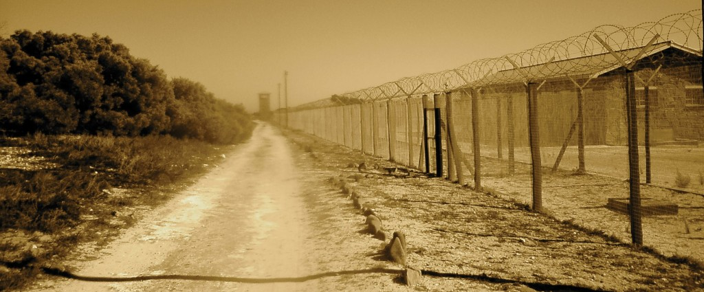 The Fence on Robben Island